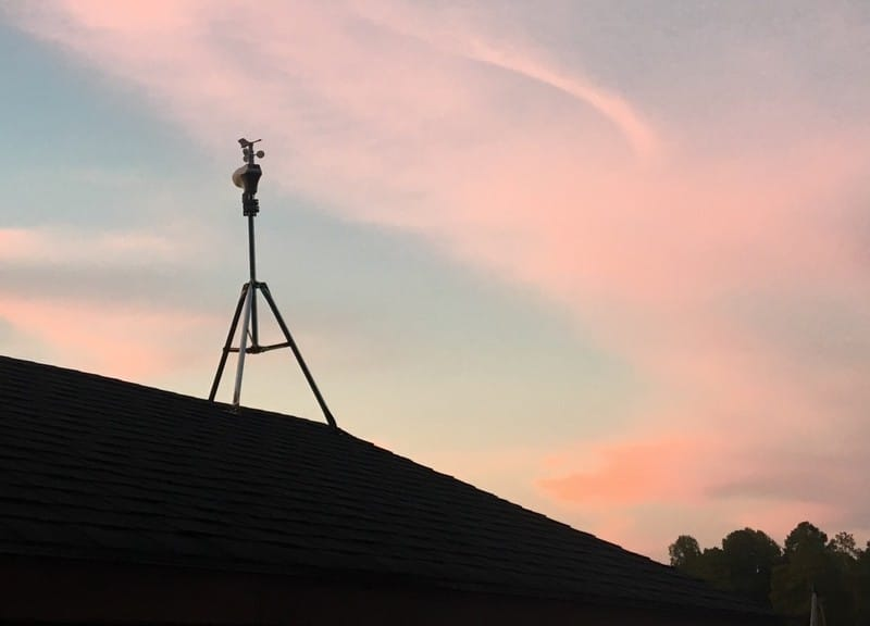 Weather station mounting solution from Ambient Weather