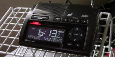 How to program a Midland WR400 NOAA weather radio
