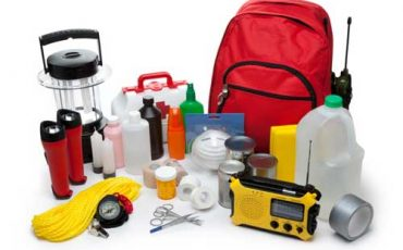Severe weather supply kit for disasters