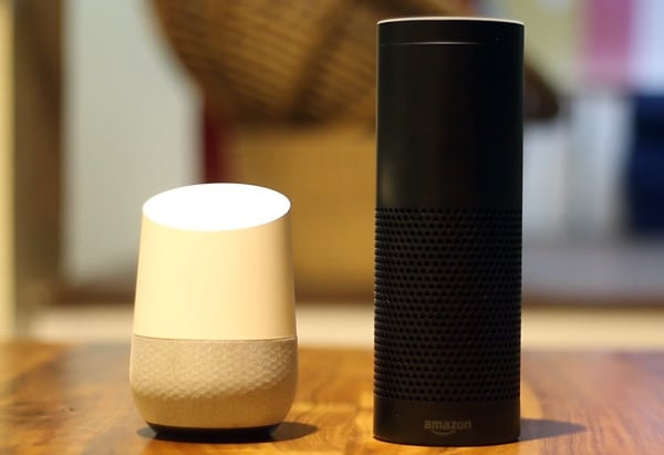 Amazon Echo and Google Home
