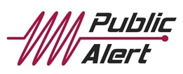 Public alert certified logo
