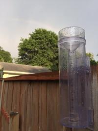 analog rain gauge