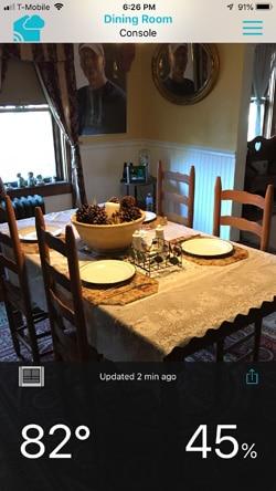 La Crosse Technology view app indoor sensor