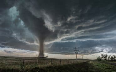 USA has the most tornadoes in the world