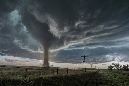 What Country Has the Most Tornadoes in the World? 1
