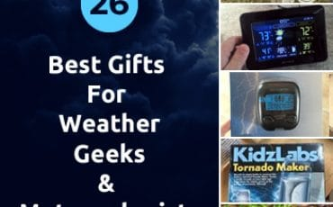 Best gifts for weather geeks and meteorologists