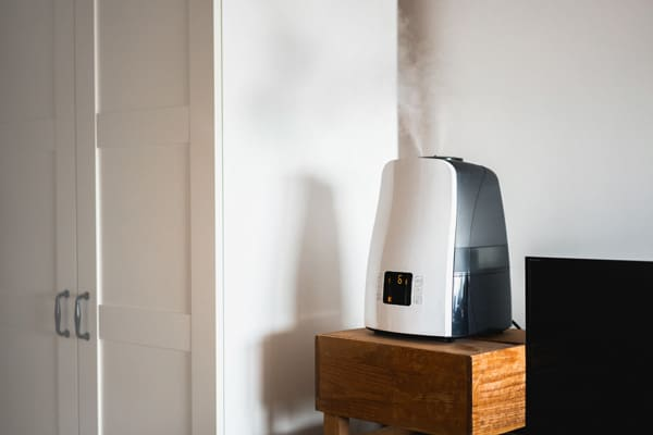 Humidifier on at home