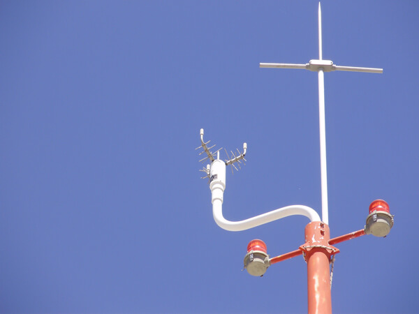 Sonic anemometers use sound waves to measure wind