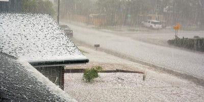 Hailstorm in Colorado